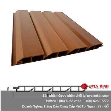 Thanh Profile PVC QW 20CO250