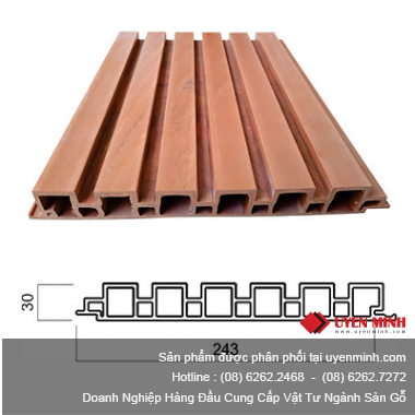 Thanh Profile PVC QW 30CO243
